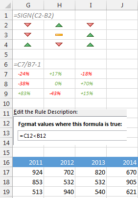 how to change from positive to negative in excel