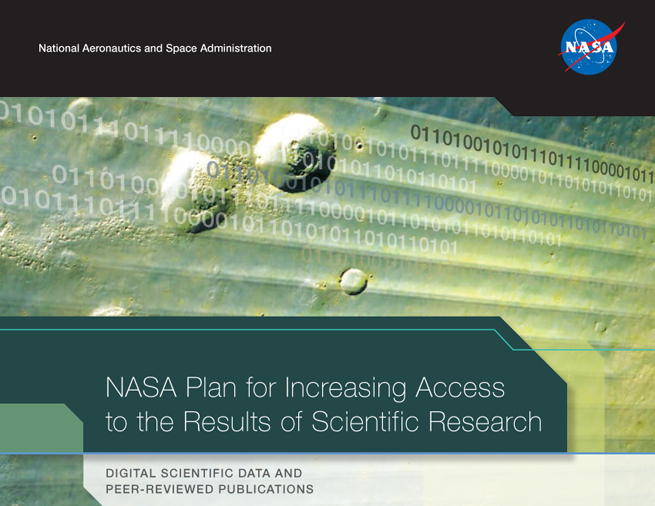 NASA Plan for Increasing Access to the Results of Scientific Res