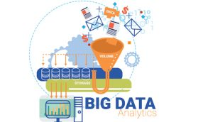 Big data business concept ,info graphic vector illustration