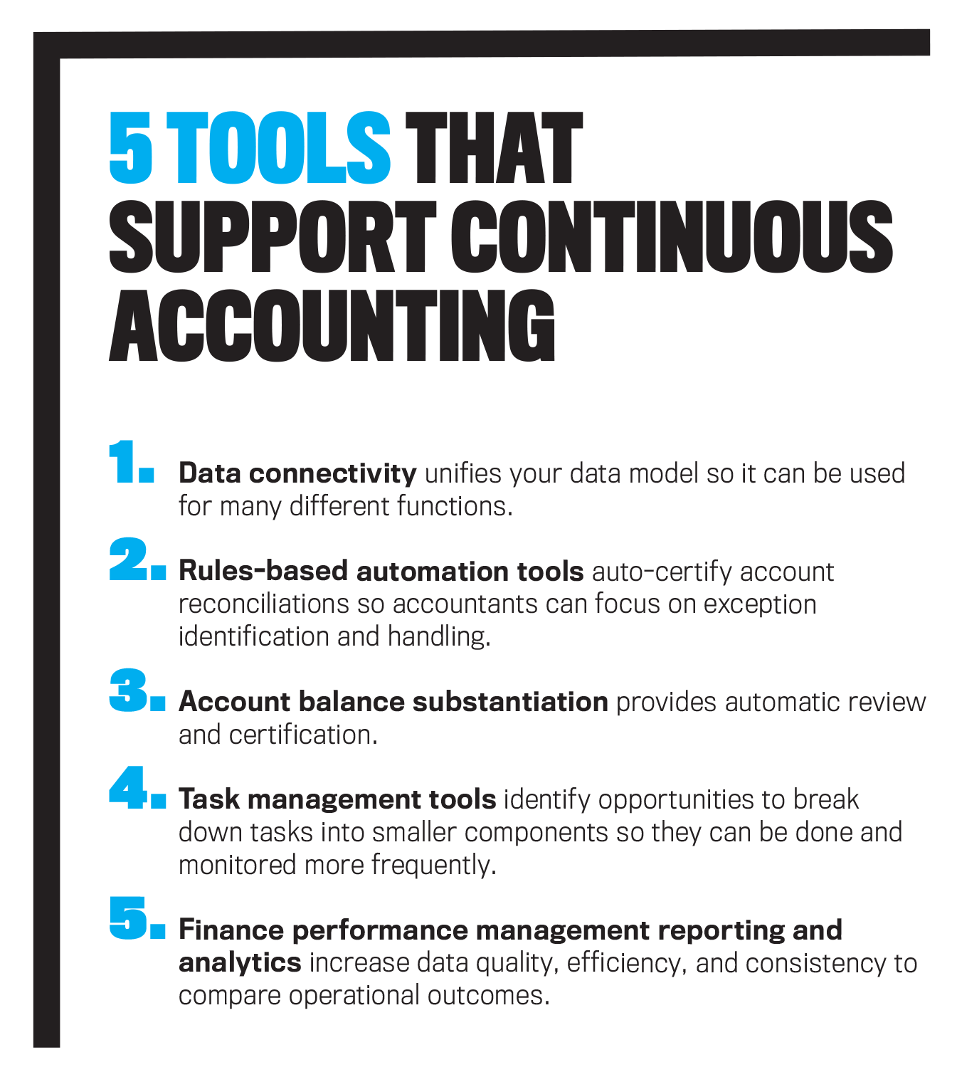 The blueprint for continuous accounting strategic finance optimized processes reduce risk improve accuracy and increase efficiency benefiting the entire accounting and finance functions reducing manual and rote malvernweather Gallery