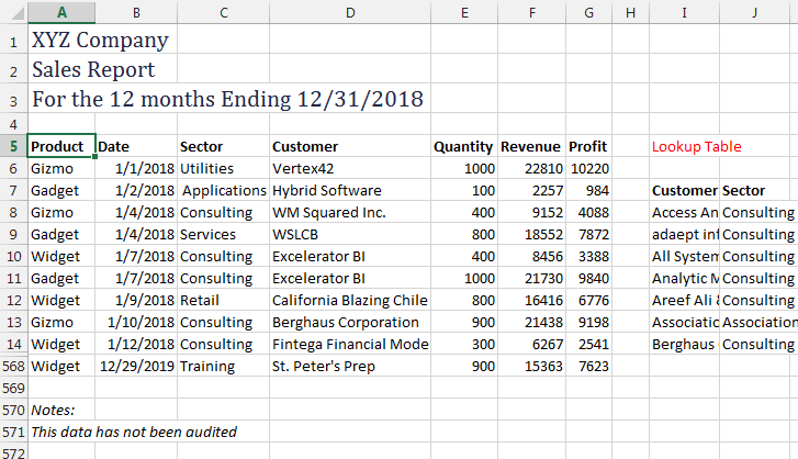 EXCEL: SORTING WITH VBA - Strategic Finance