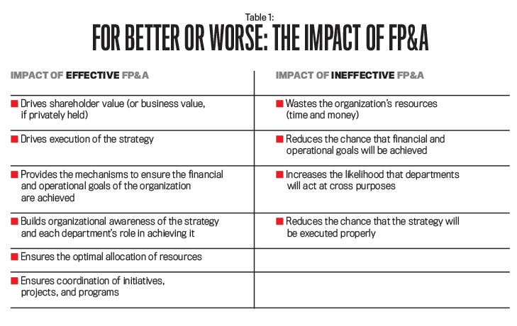 12 Principles of Best Practice FP&A - Strategic Finance