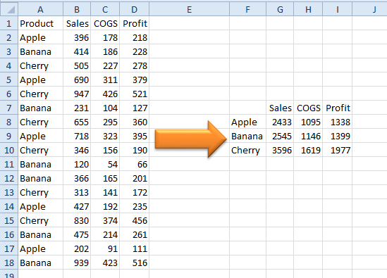 Excel: Consolidations in Excel - Strategic Finance