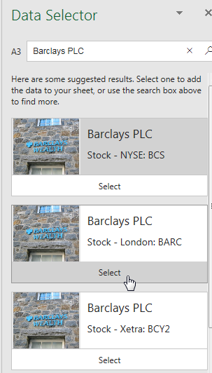 Excel: Stocks Data Type - Strategic Finance